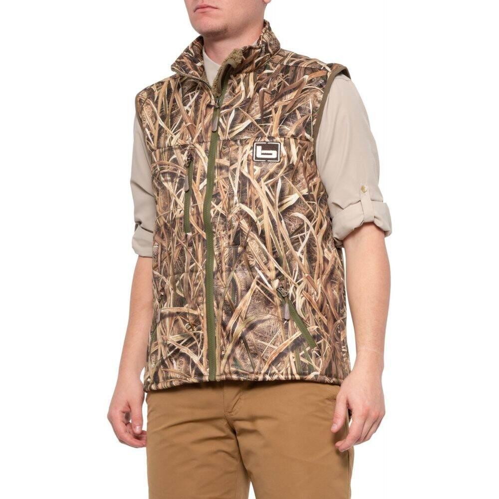 バンデッド Banded メンズ ベスト・ジレ トップス【Atchafalaya Vest】Mossy Oak Shadow Grass Blades