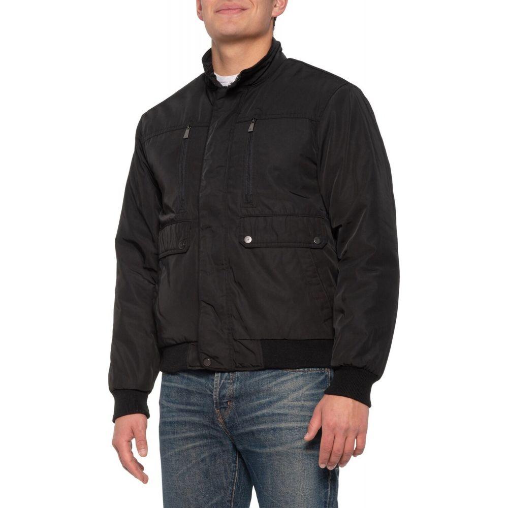レインフォレスト Rainforest メンズ ブルゾン ミリタリージャケット アウター【Shaped Memory Bomber Jacket - Insulated】Black