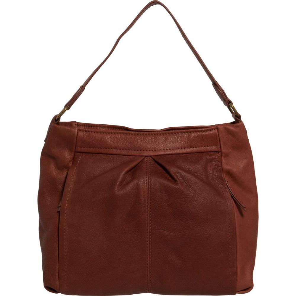 アメリカン レザー American Leather Co. レディース ショルダーバッグ バッグ【Missouri Slouchy Hobo Bag - Leather】Brandy