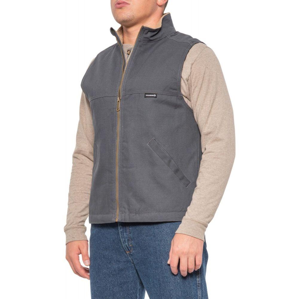 ウルヴァリン Wolverine メンズ ベスト・ジレ トップス【Canvas Work Vest - Insulated】Granite