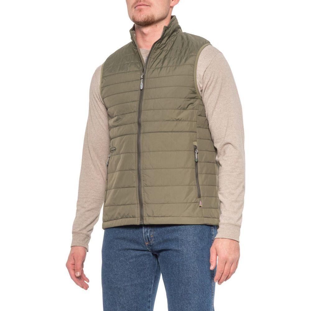アーバーウェア Arborwear メンズ ベスト・ジレ トップス【Campbell Hill PrimaLoft Puffy Vest - Insulated】Olive