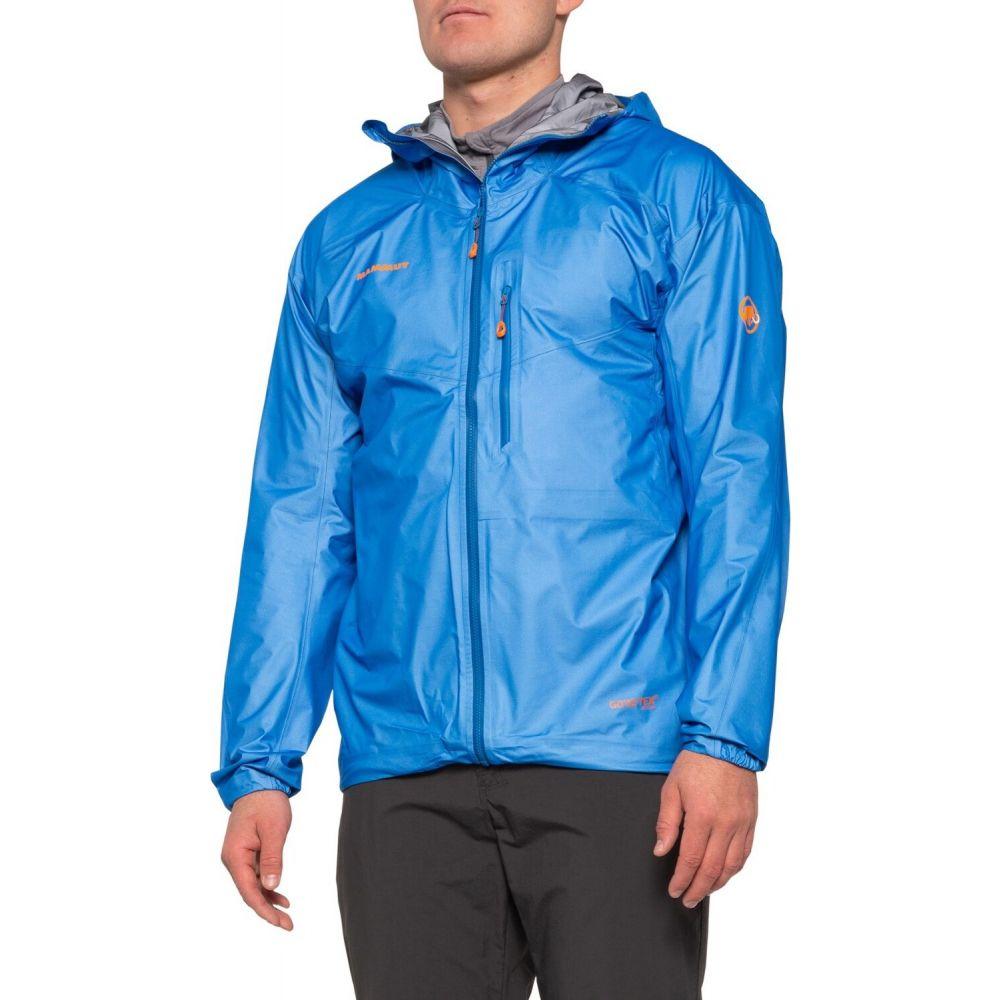 マムート Mammut メンズ ジャケット フード シェルジャケット アウター【Nordwand Light Hard Shell Gore-Tex Hooded Jacket - Waterproof】Ice