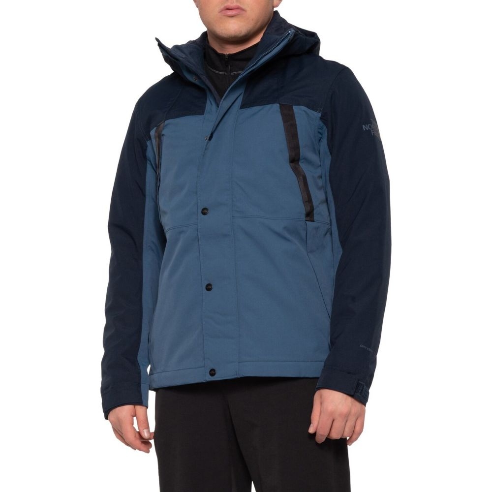 ザ ノースフェイス The North Face メンズ レインコート アウター【Stetler Rain Jacket - Waterproof, Insulated】Urban Navy Combo