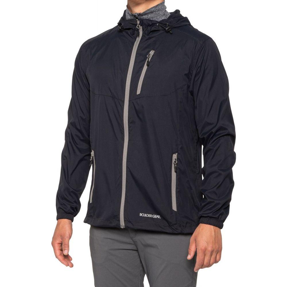 ボルダーギア Boulder Gear メンズ レインコート アウター【Goll Ultralight Rain Jacket】Black