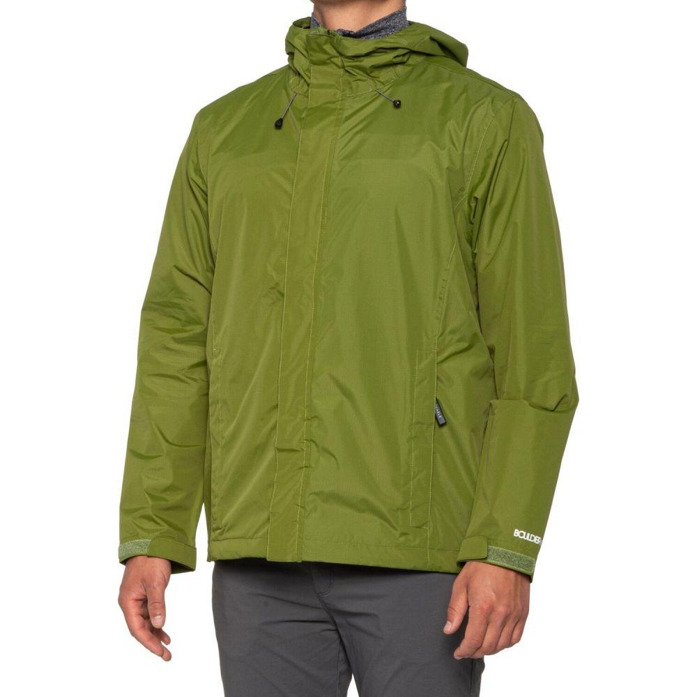 ボルダーギア Boulder Gear メンズ レインコート アウター【Stratus Rain Jacket - Waterproof】Green