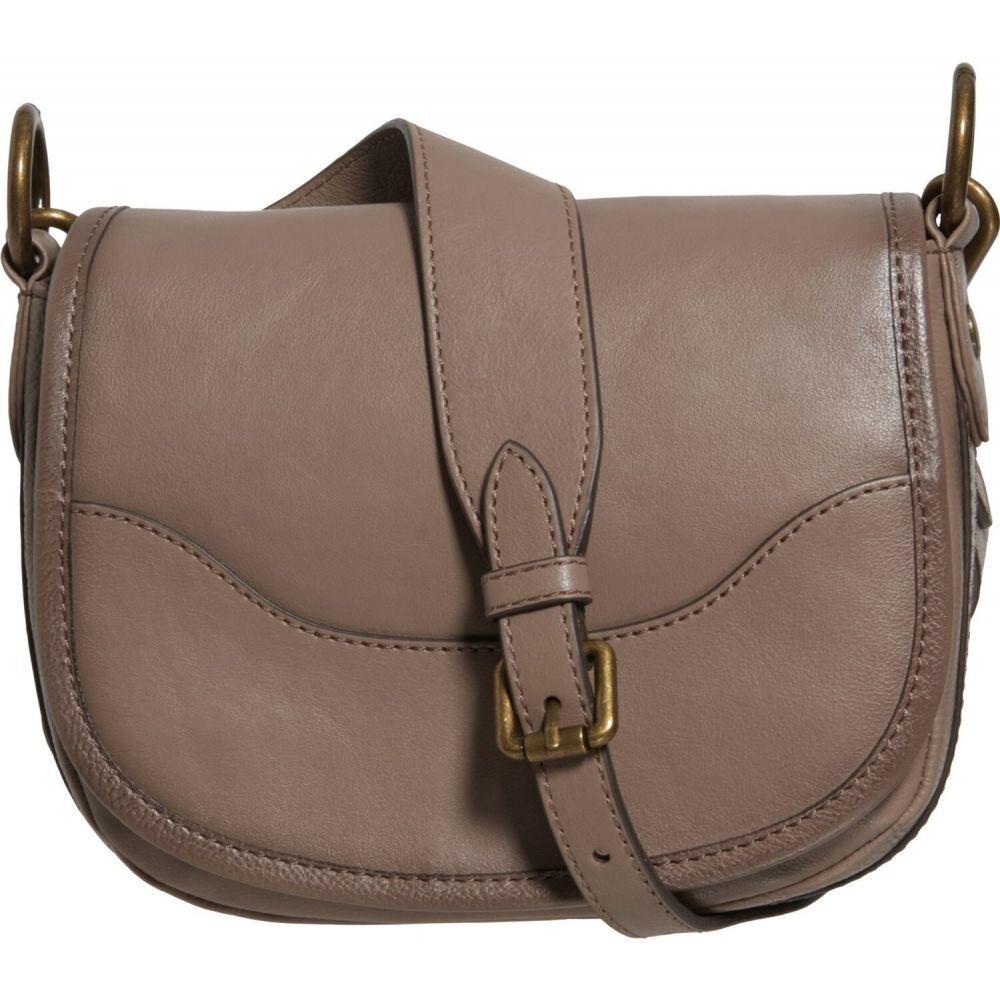 フライ Frye レディース ショルダーバッグ バッグ【Lucy Saddle Bag - Leather】Grey