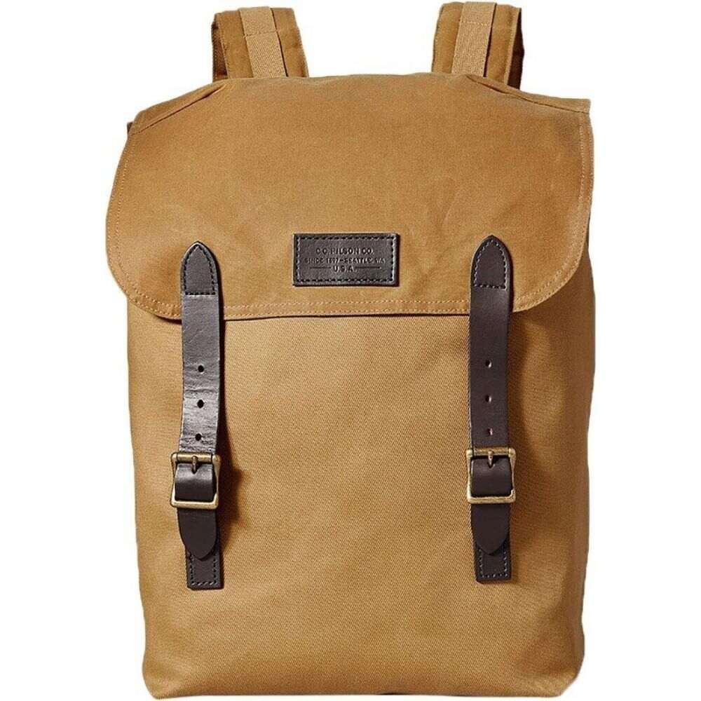 フィルソン Filson レディース バックパック・リュック バッグ【Ranger Backpack】Tan