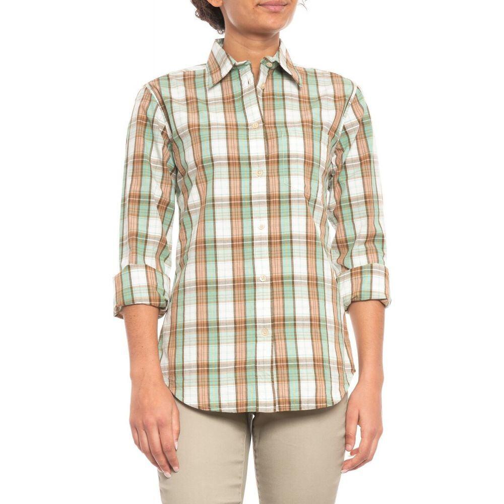 フィルソン Filson レディース ブラウス・シャツ トップス【Hyland Shirt - Long Sleeve】Ivory/Clay/Mint