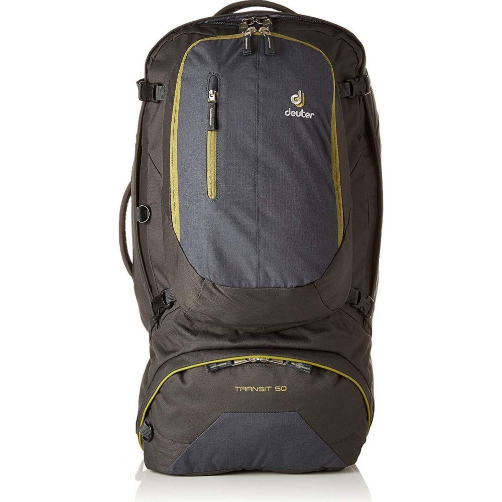 ドイター Deuter レディース バックパック・リュック バッグ【Transit 50L Backpack - Internal Frame】Antrhacite/Moss