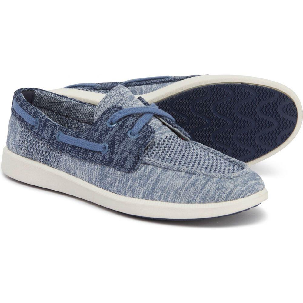 スペリートップサイダー Sperry レディース スリッポン・フラット シューズ・靴【Navy Oasis Dock Knit Boat Shoes】Navy