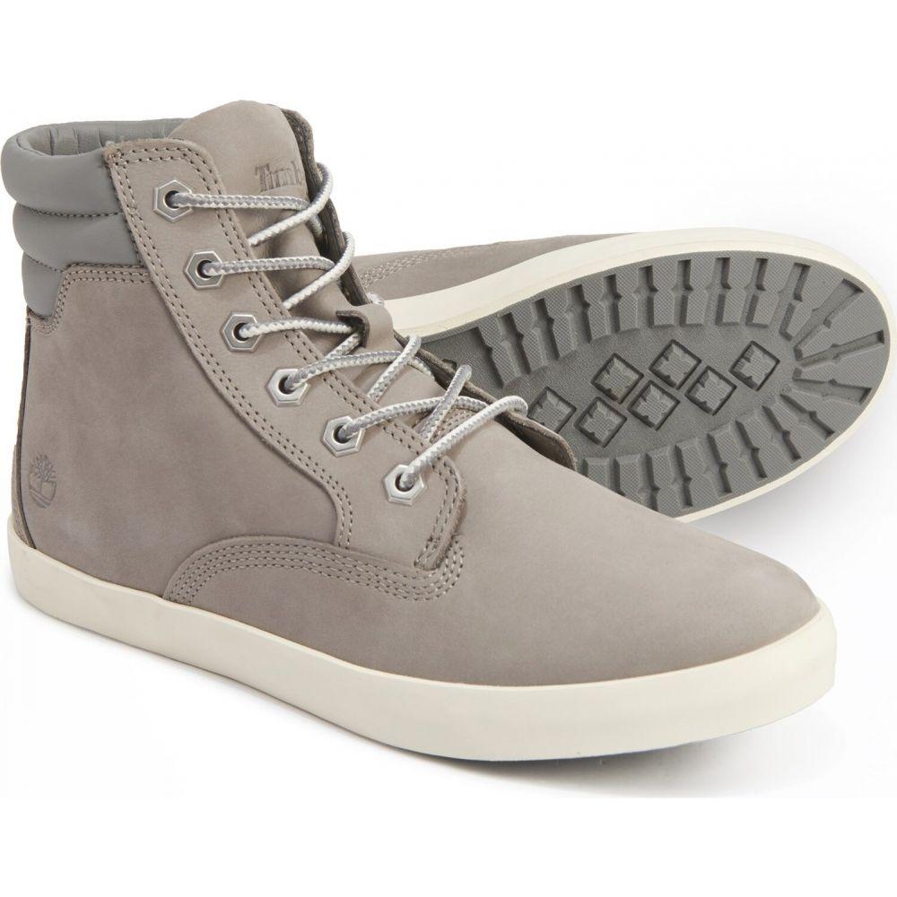 ティンバーランド Timberland レディース スニーカー シューズ・靴【Dausette Sneaker Boots - Nubuck】Medium Grey Nubuck