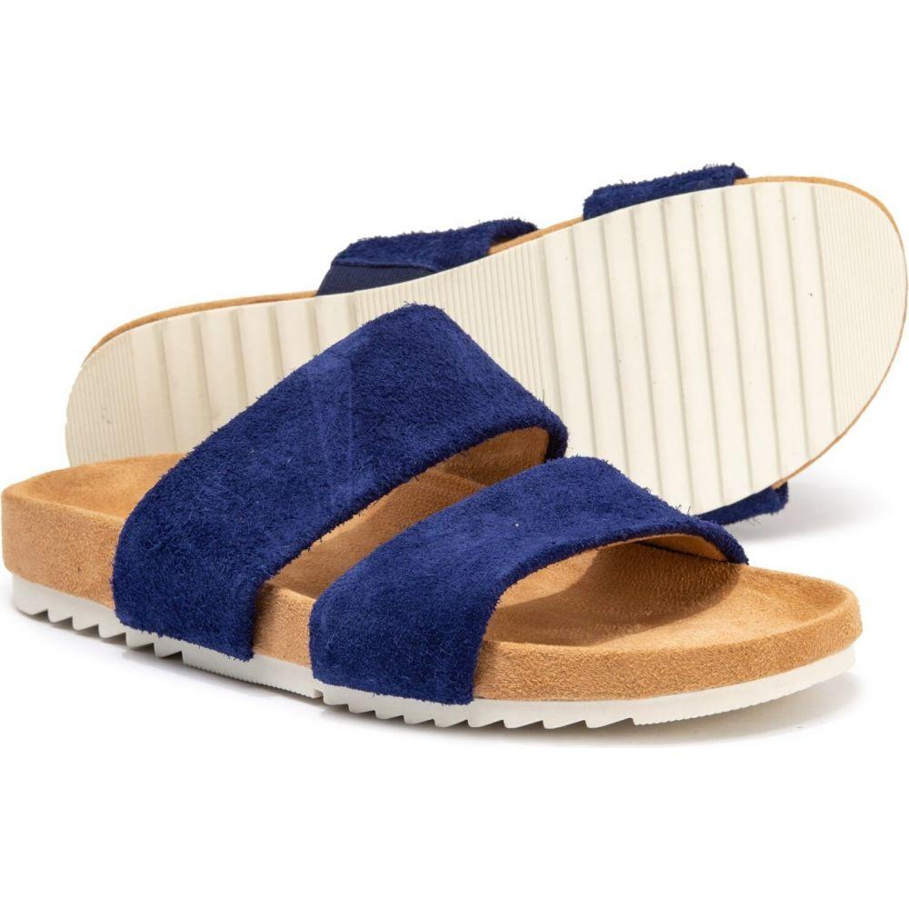 ナチュラライザー Naturalizer レディース サンダル・ミュール シューズ・靴【Amabella Slide Sandals - Suede】Sapphire