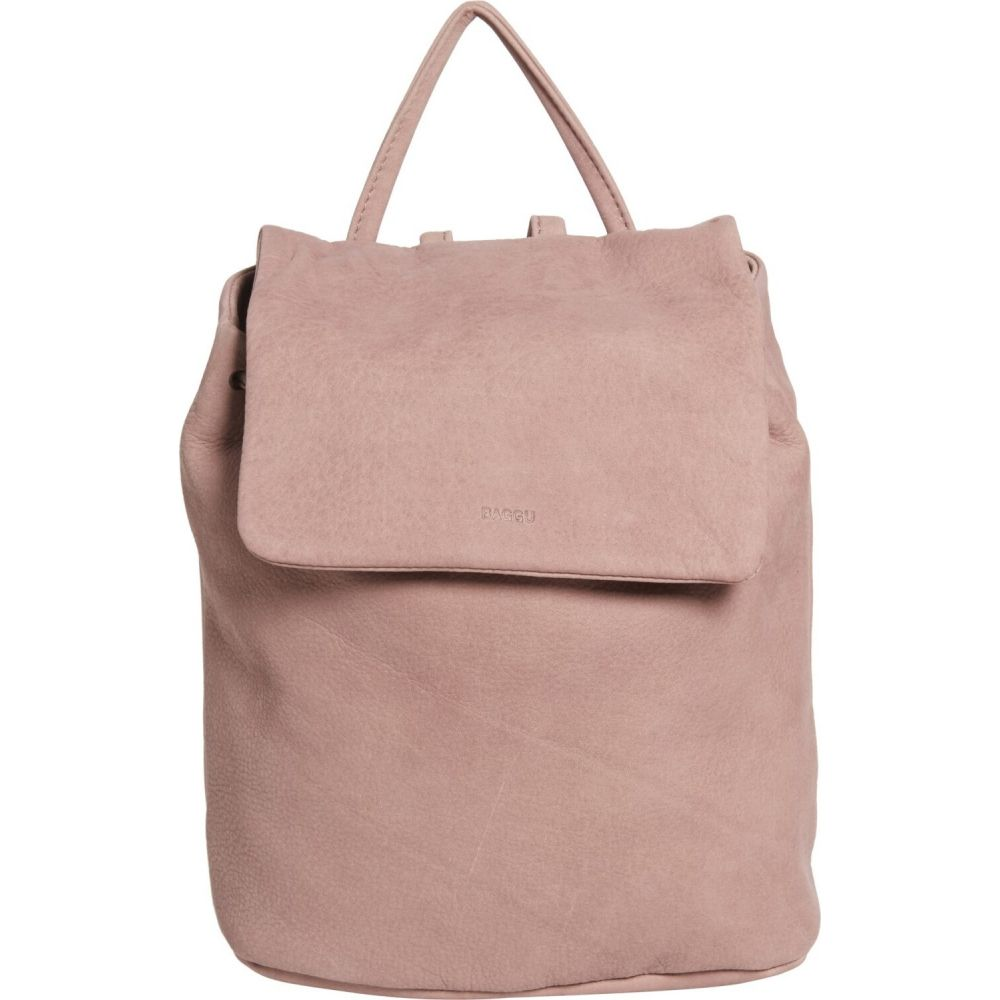 バグゥ Baggu レディース バックパック・リュック バッグ【Mini Backpack - Nubuck】Taro