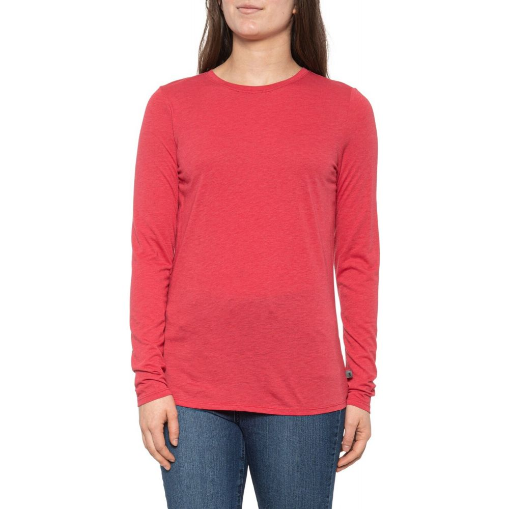 ロイヤルロビンズ Royal Robbins レディース トップス 【MerinoLux Crew Shirt - UPF 50+, Long Sleeve】Rose Red