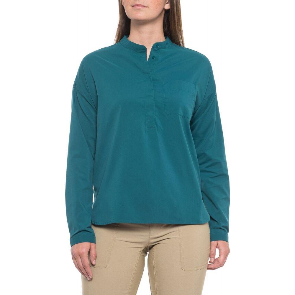 マウンテンハードウェア Mountain Hardwear レディース トップス 【Canyon Pro Popover Shirt - UPF 50, Long Sleeve】Dive
