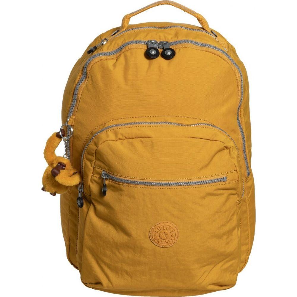 キプリング Kipling レディース バックパック・リュック バッグ【Seoul Large Backpack】Warm Yellow