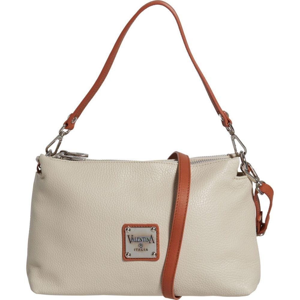 バレンティナ Valentina レディース ショルダーバッグ バッグ【Made in Italy EW Crossbody Bag - Leather】Beige