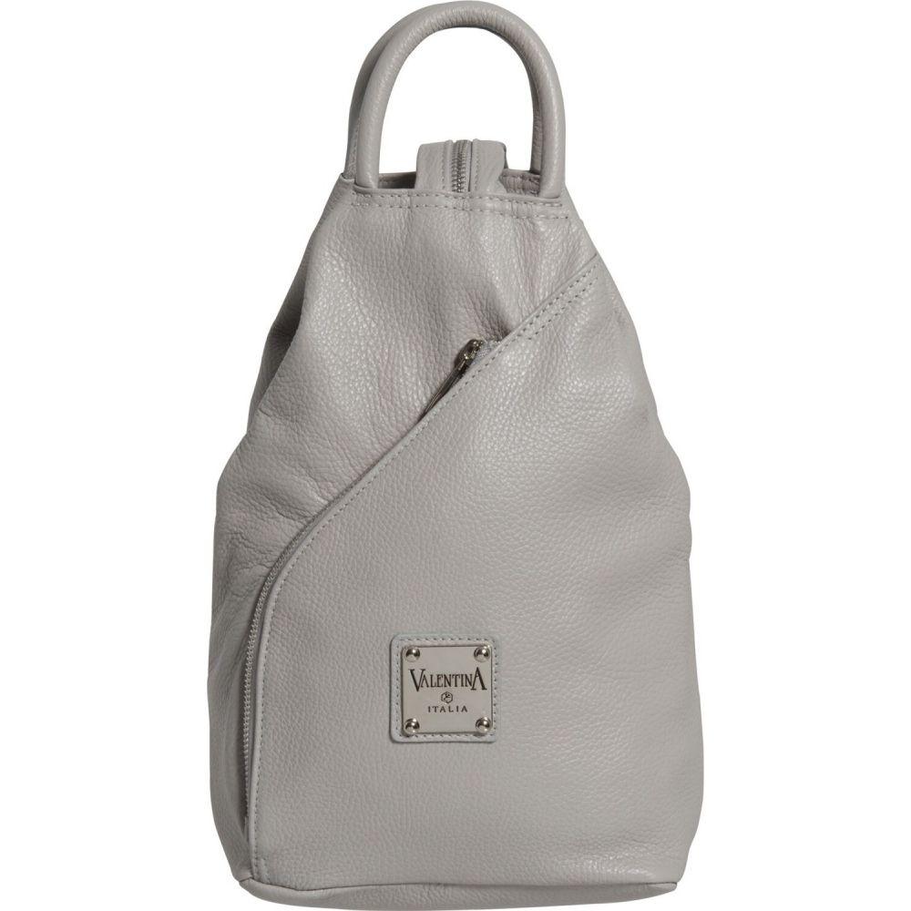 バレンティナ Valentina レディース バックパック・リュック バッグ【Made in Italy Sling Backpack - Leather】Pearl
