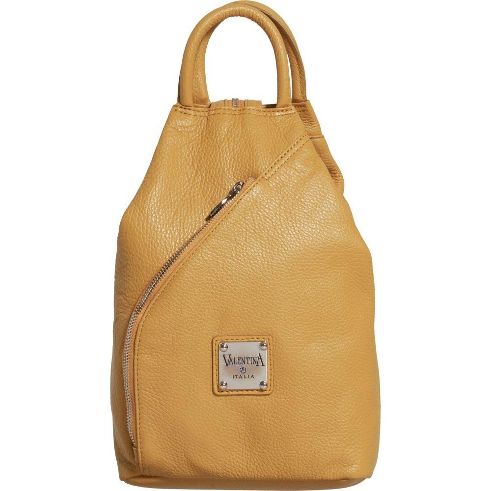 バレンティナ Valentina レディース バックパック・リュック バッグ【Made in Italy Convertible Backpack - Leather】Pinapple