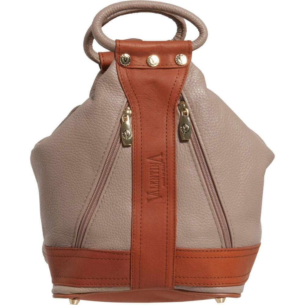 バレンティナ Valentina レディース バックパック・リュック バッグ【Made in Italy Medium Convertible Sling Backpack - Leather】Dove
