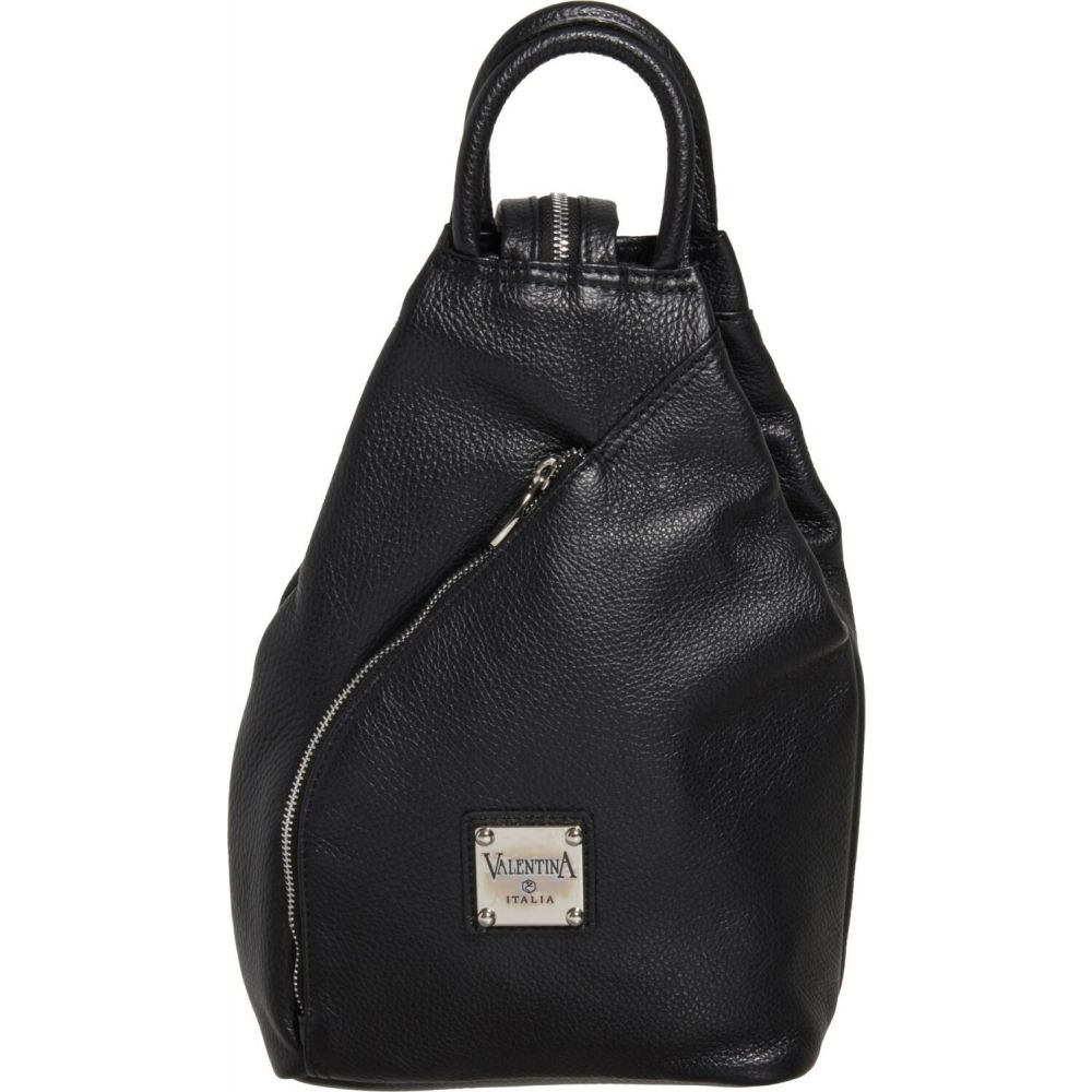 バレンティナ Valentina レディース バックパック・リュック バッグ【Made in Italy Sling Backpack - Leather】Black