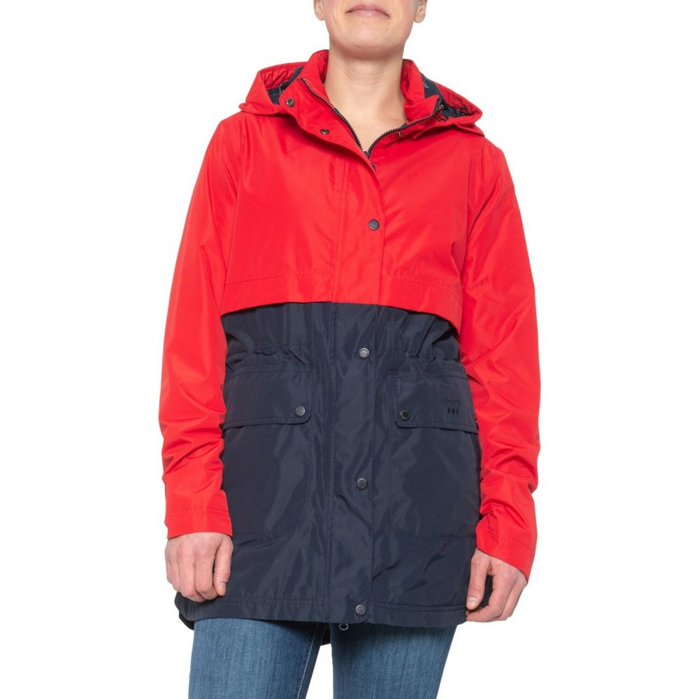 バブアー Barbour レディース ジャケット アウター【Altair Jacket - Waterproof, Insulated】Red/Black