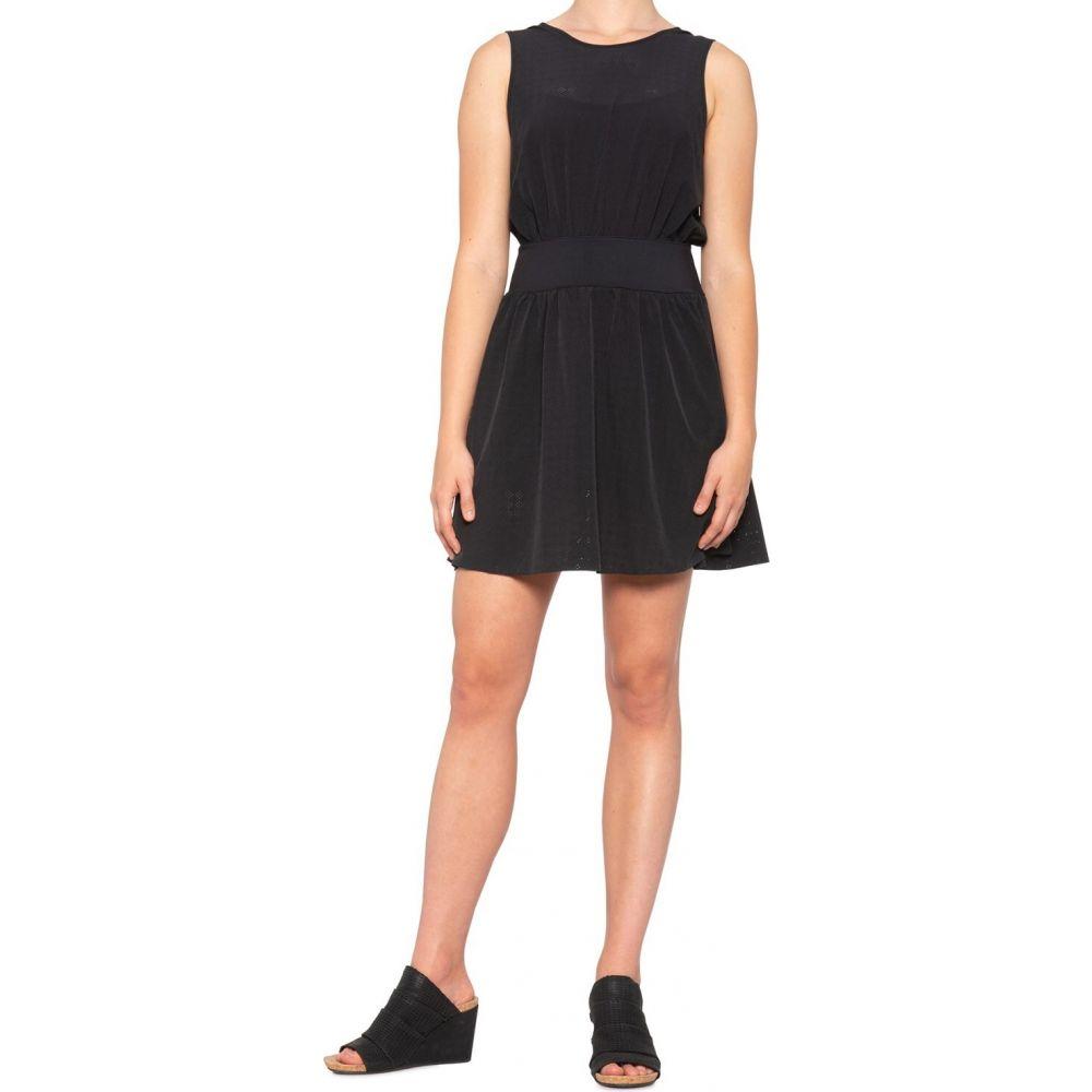 アンダーアーマー Under Armour レディース ワンピース・ドレス ノースリーブ【Misty Copeland Signature Woven Perforated Dress - 2-Piece, Sleeveless】Black