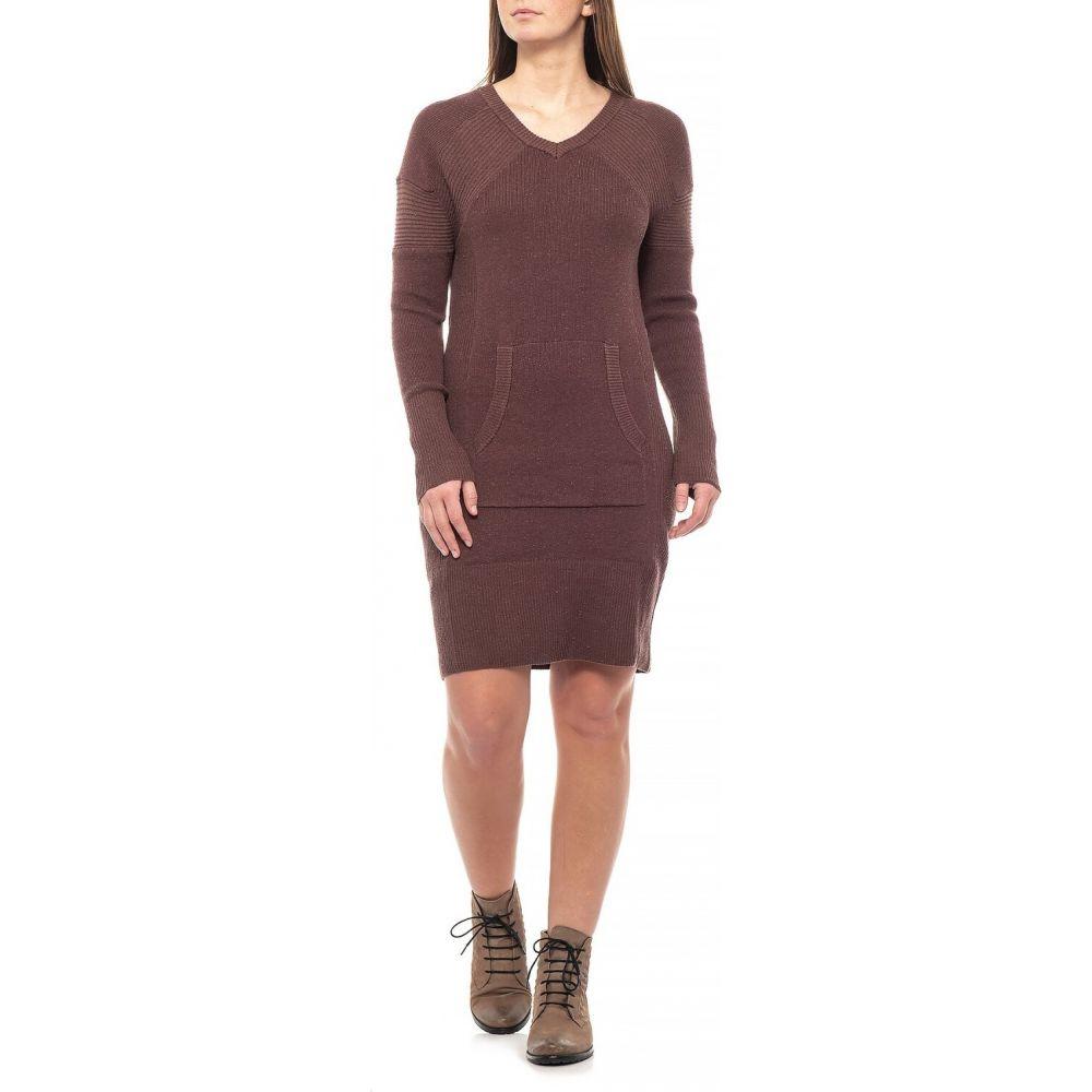 プラーナ prAna レディース ワンピース ワンピース・ドレス【Wedged Wood Avalone Dress - Long Sleeve】Wedged Wood