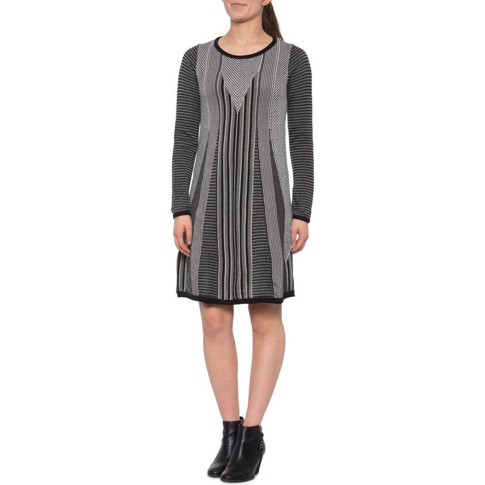 プラーナ prAna レディース ワンピース ワンピース・ドレス【Whitley Sweater Dress - Long Sleeve】Black