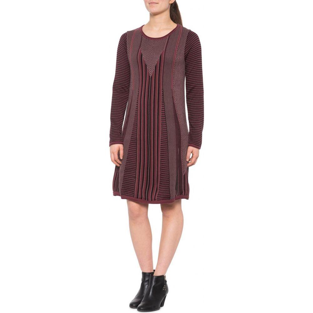 プラーナ prAna レディース ワンピース ワンピース・ドレス【Whitley Sweater Dress - Long Sleeve】Burgundy