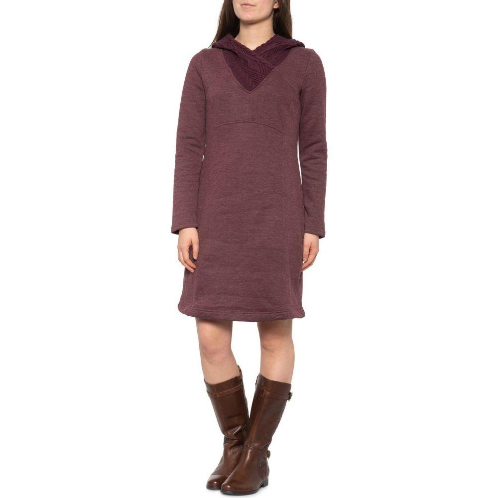 プラーナ prAna レディース ワンピース ワンピース・ドレス【Maud Dress - Long Sleeve】Eggplant