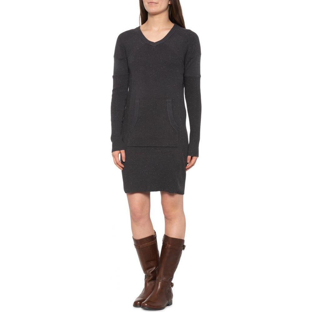 プラーナ prAna レディース ワンピース ワンピース・ドレス【Avalone Dress - Long Sleeve】Charcoal