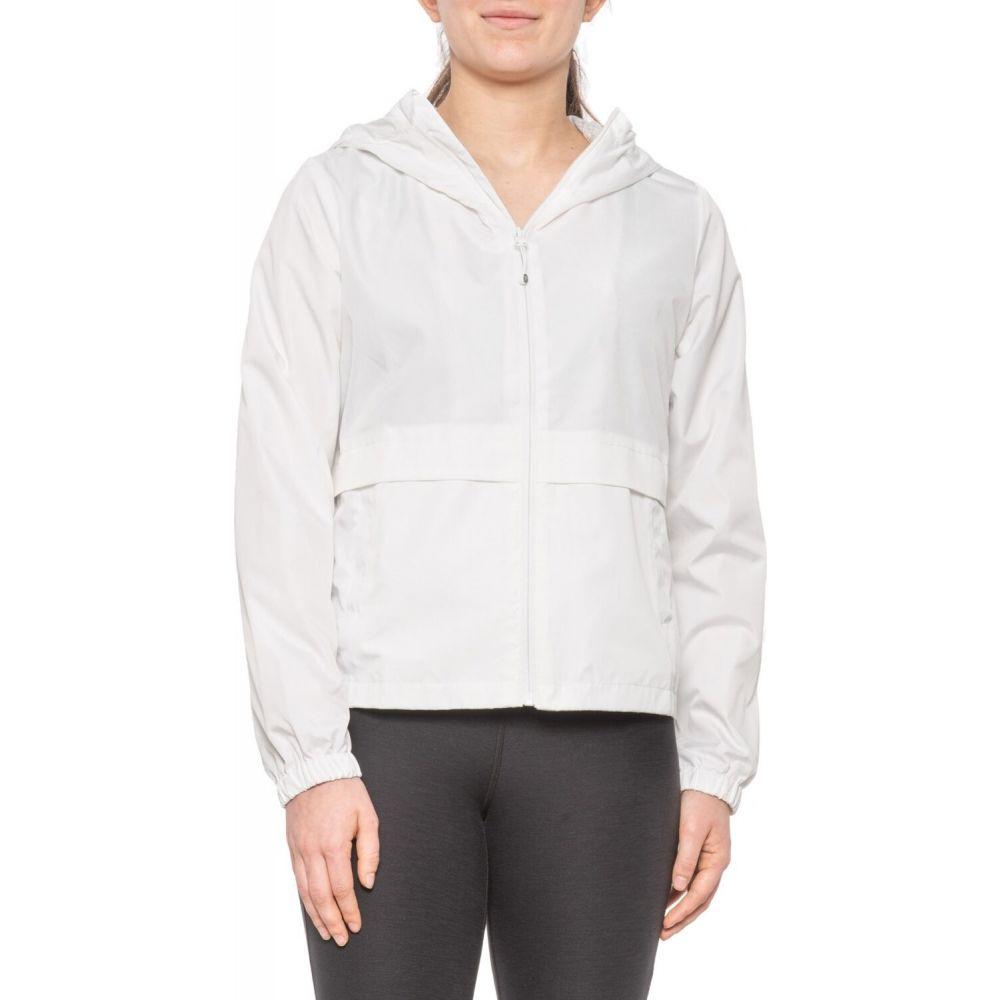 モンデッタ Mondetta レディース ジャケット アウター【Cinched-Waist Jacket - Jersey Lined】White