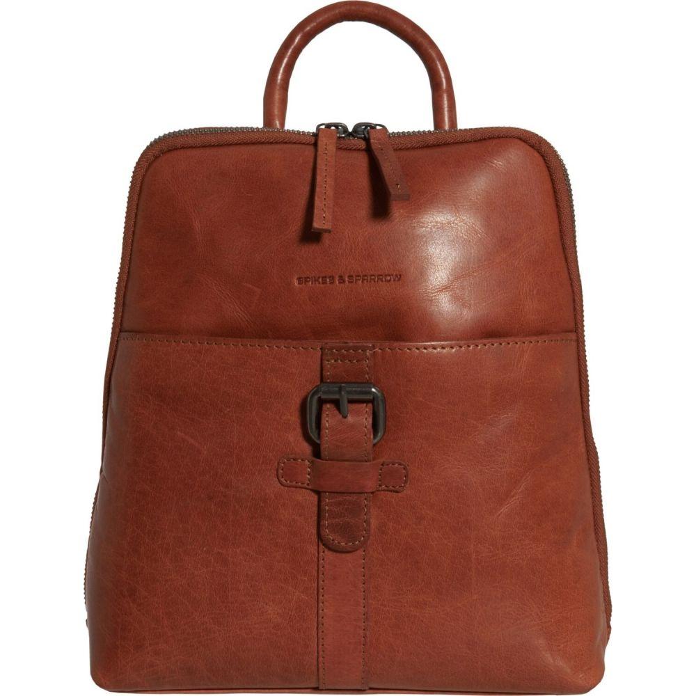 スパイク&スパロー Spikes & Sparrow レディース バックパック・リュック バッグ【Leather Backpack】Brandy