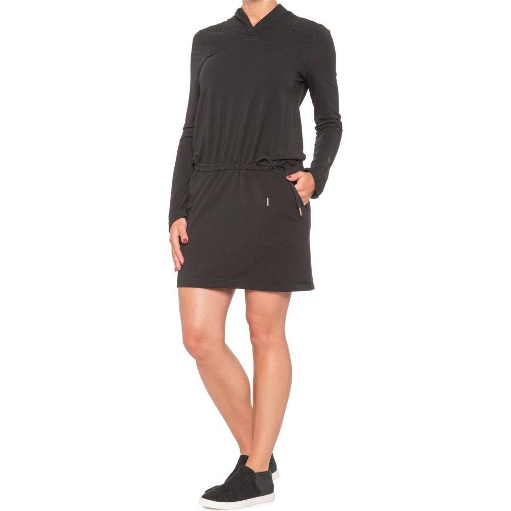 インデジェナ INDYGENA レディース ワンピース ワンピース・ドレス【Mekko Dress - Long Sleeve】Pure Black
