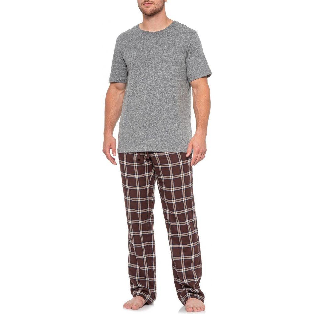 アグ UGG Australia メンズ パジャマ・上下セット インナー・下着【Port and Grey Heather Grant Pajamas - Short Sleeve】Port/Grey Heather
