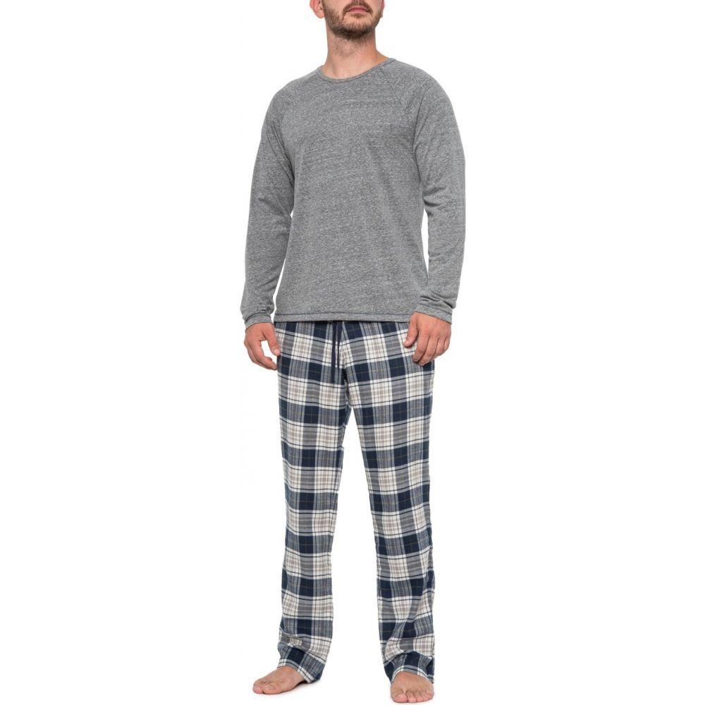 アグ UGG Australia メンズ パジャマ・上下セット インナー・下着【Navy and Grey Heather Steiner Pajamas - Long Sleeve】Navy/Grey Heather