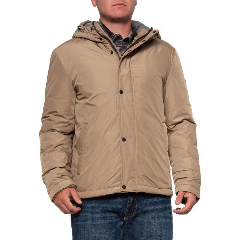 Insulated】Khaki アウター【Signature メンズ Haan Jacket Cole Hooded フード コールハーン - ジャケット Oxford
