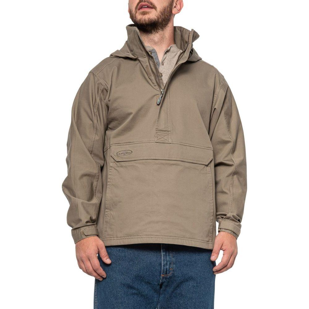 Jacket Neck】Driftwood メンズ Anorak アノラック アーバーウェア Flex - アウター【Willow ジャケット Arborwear Zip