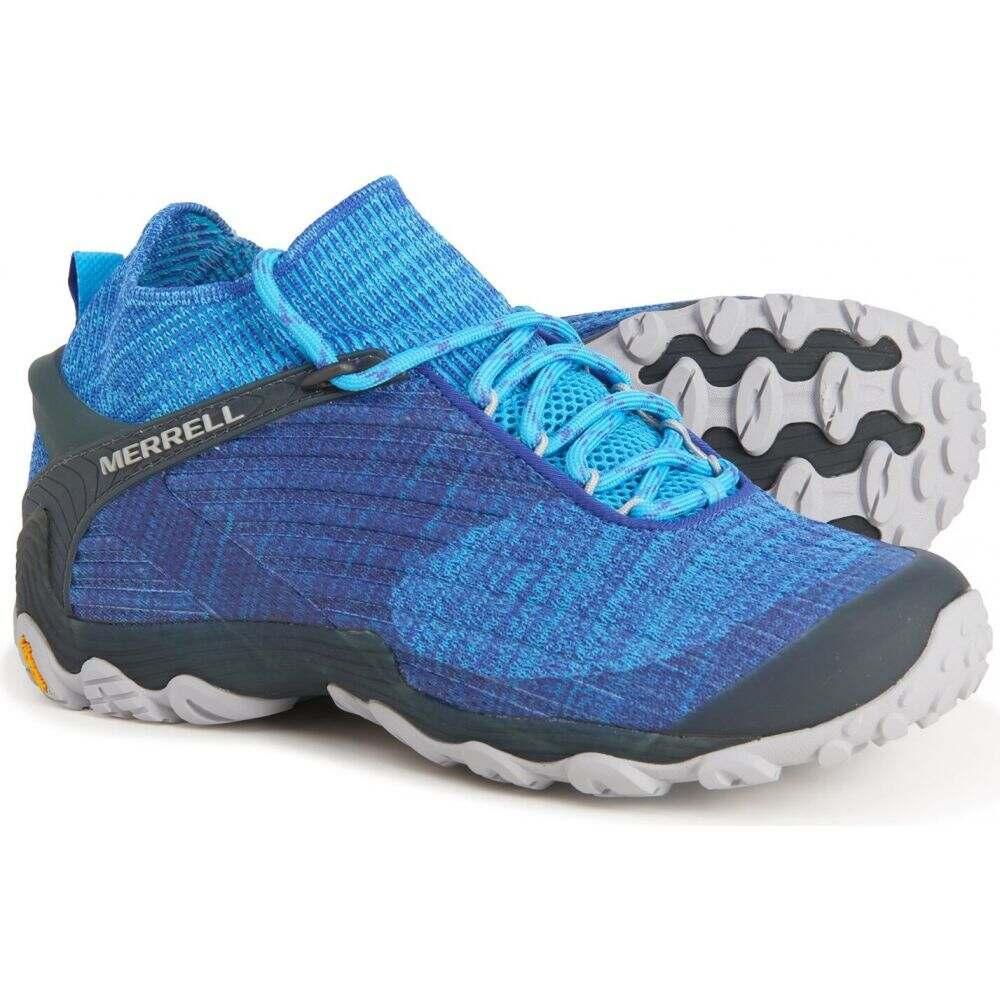 <title>メレル レディース ハイキング 登山 シューズ 靴 Vitalize Blue サイズ交換無料 Merrell ブーツ Chameleon 7 正規認証品!新規格 Knit Mid Hiking Boots</title>