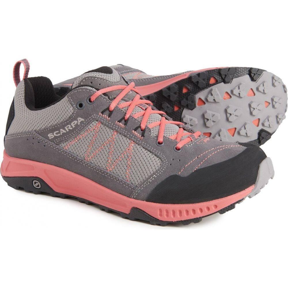 <title>スカルパ レディース ハイキング 登山 シューズ 靴 Gray Coral サイズ交換無料 Scarpa Rapid Hiking Shoes メーカー再生品</title>