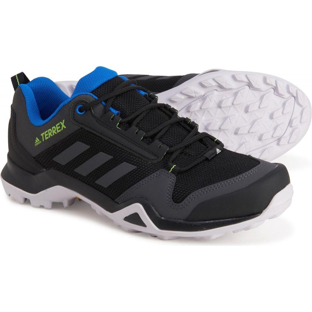 <title>アディダス メーカー直送 メンズ ハイキング 登山 シューズ 靴 Black Dgh Solid Grey Signal Green サイズ交換無料 adidas outdoor terrex ax3 hiking shoes</title>