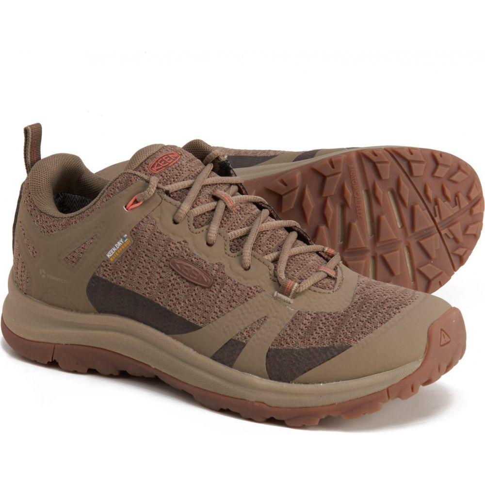 キーン セットアップ レディース ハイキング 登山 シューズ 靴 Timberwolf 買収 Coral shoes サイズ交換無料 ii waterproof hiking - terradora Keen