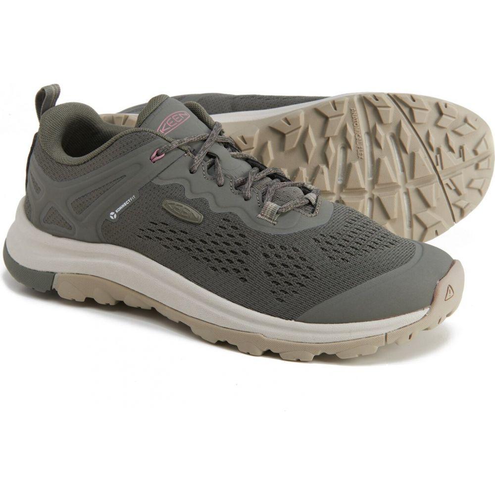 <title>キーン レディース ハイキング 登山 シューズ 靴 Dusty Olive Nostalgia Rose 全国一律送料無料 サイズ交換無料 Keen terradora ii vent hiking shoes</title>