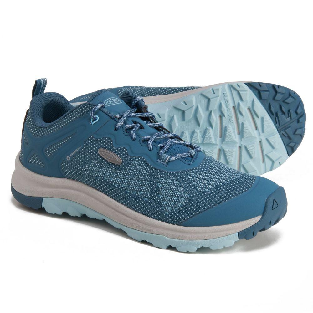 <title>キーン SALE開催中 レディース ハイキング 登山 シューズ 靴 Tapestry Blue Glow サイズ交換無料 Keen terradora ii vent hiking shoes</title>