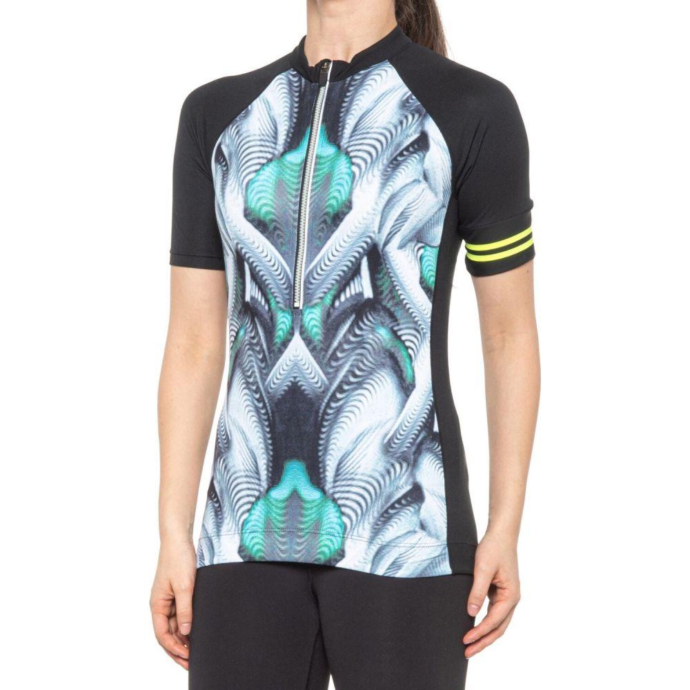 ふるさと割 エムピージー セール商品 レディース 自転車 トップス Shuttle Print サイズ交換無料 Jersey Sleeve Cycling MPG - Short Glow