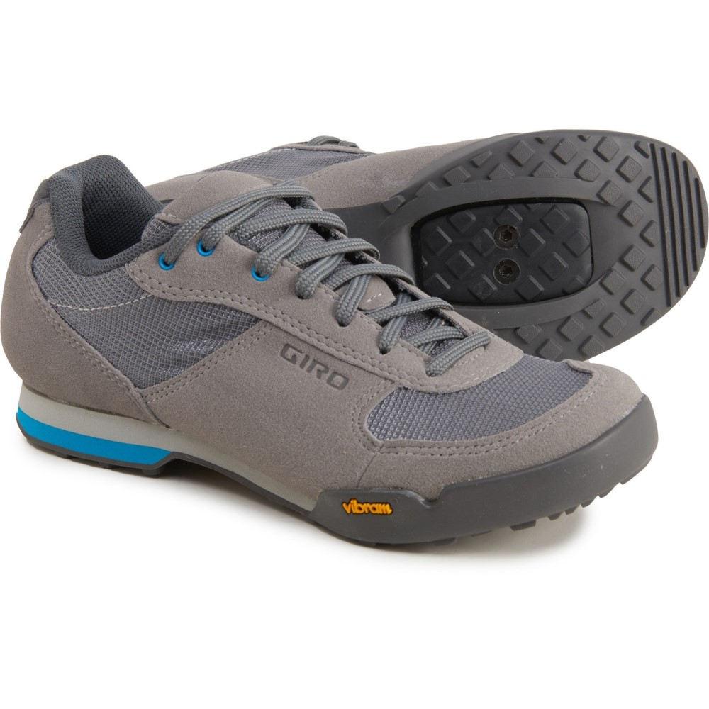 ジロ レディース 自転車 シューズ・靴 Titanium/Blue 【サイズ交換無料】 ジロ Giro レディース 自転車 シューズ・靴【Petra VR Cycling Shoes】Titanium/Blue