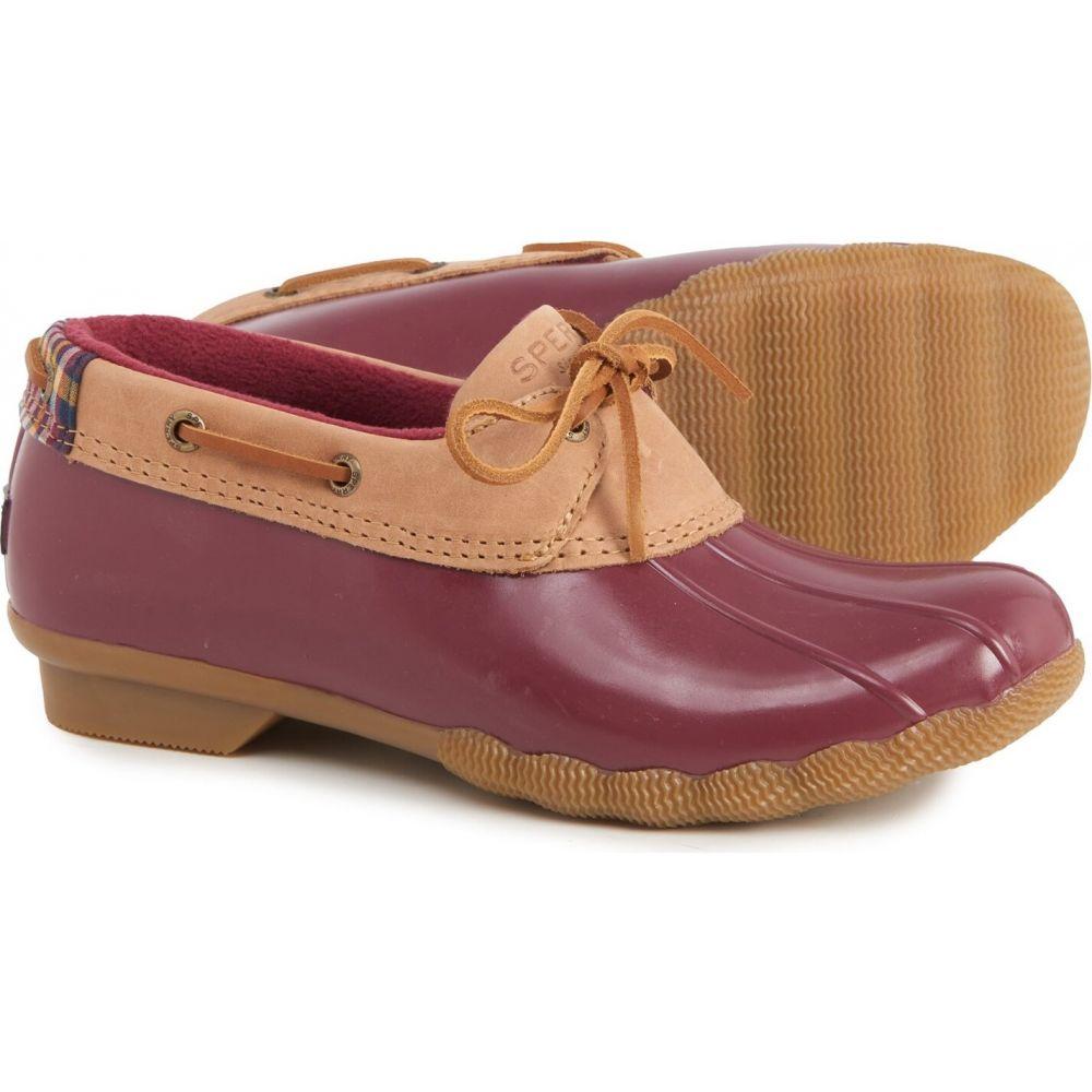 スペリートップサイダー レディース シューズ・靴 レインシューズ・長靴 Tan/Cordovan 【サイズ交換無料】 スペリートップサイダー Sperry レディース レインシューズ・長靴 シューズ・靴【Saltwater 1-Eye Duck Shoes - Waterproof】Tan/Cordovan