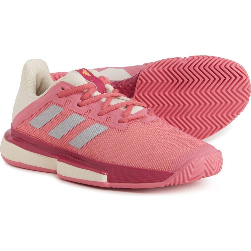 時間指定不可 アディダス レディース テニス シューズ 靴 Hazy Rose Bounce Shoes サイズ交換無料 SoleMatch Tennis 国産品 adidas