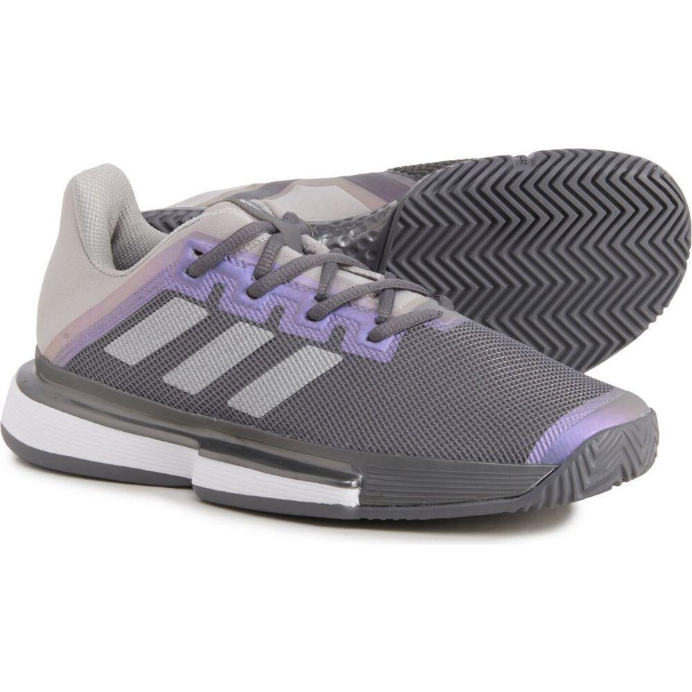 アディダス レディース テニス 新作 人気 国内即発送 シューズ 靴 Grey Four Bounce Shoes サイズ交換無料 SoleMatch Tennis adidas